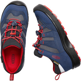Keen Hikeport WP Zapatillas Niños, dress blues/firey red